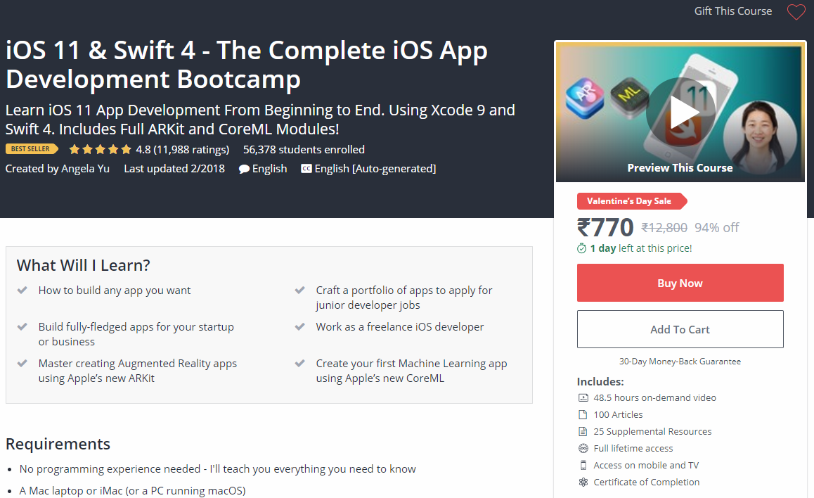 10 Best iOS Development Courses On Udemy – DISCOUNT ONLINE