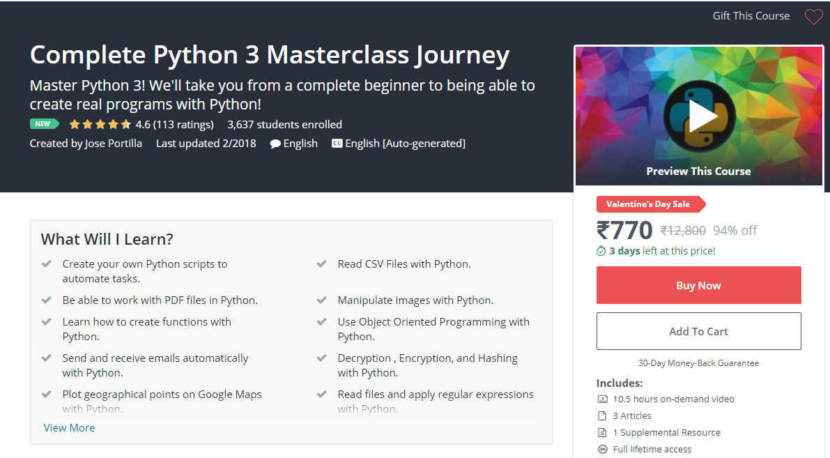 The 10 Best Python Courses On Udemy – DISCOUNT ONLINE COUPON  COM