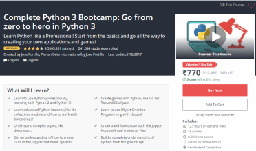The 10 Best Python Courses On Udemy – DISCOUNT ONLINE COUPON